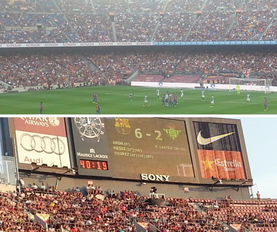 אסנת חן - כדורגל ברצלונה
