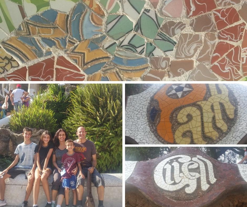 אסנת חן - פארק גואל ברצלונה