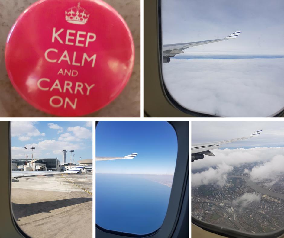 תמונות מהמטוס - אסנת חן