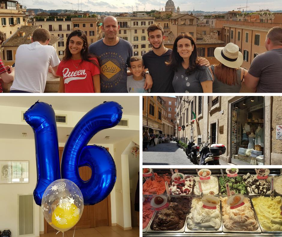 אסנת חן - חוגגים 16 ברומא