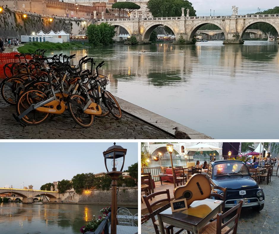 אסנת חן - נהר הטיבר ברומא