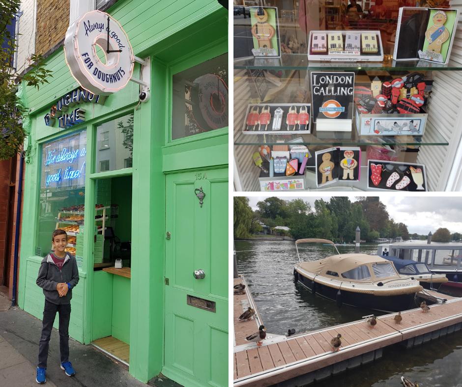 לונדון - פעם שלישית גלידה - אסנת חן